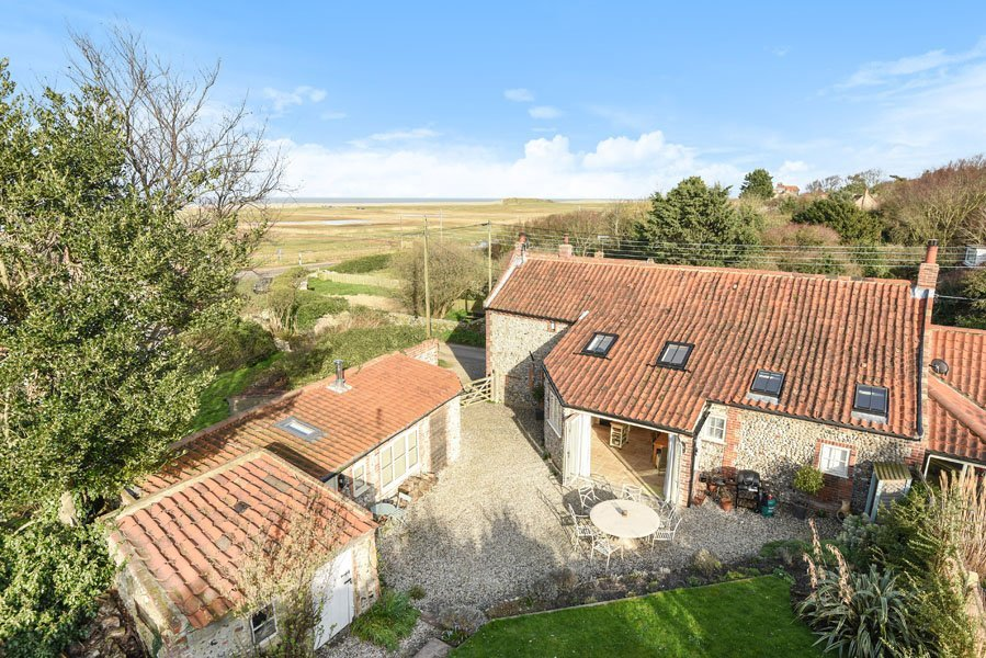 WELL COTTAGE SALTHOUSE AERIAL 1