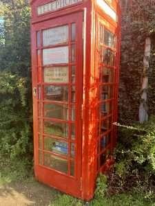 Burnhams Circular Walk Telephone box