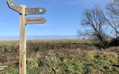 4.5 Mile Easy Burnhams Circular Walk